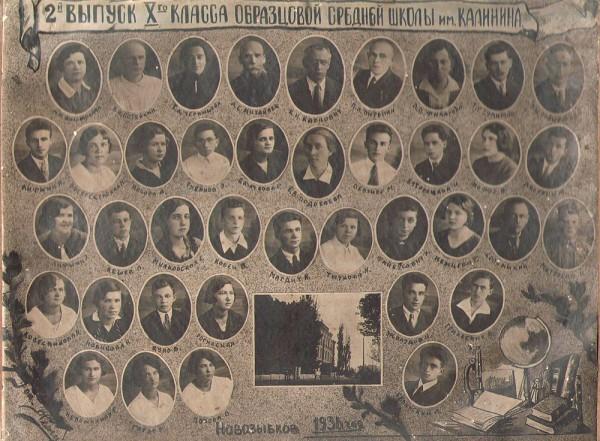 Выпуск 1936 года