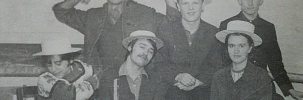 КВН-70. Стоит крайний слева - Б.Бугаенко (Буба Касторский)