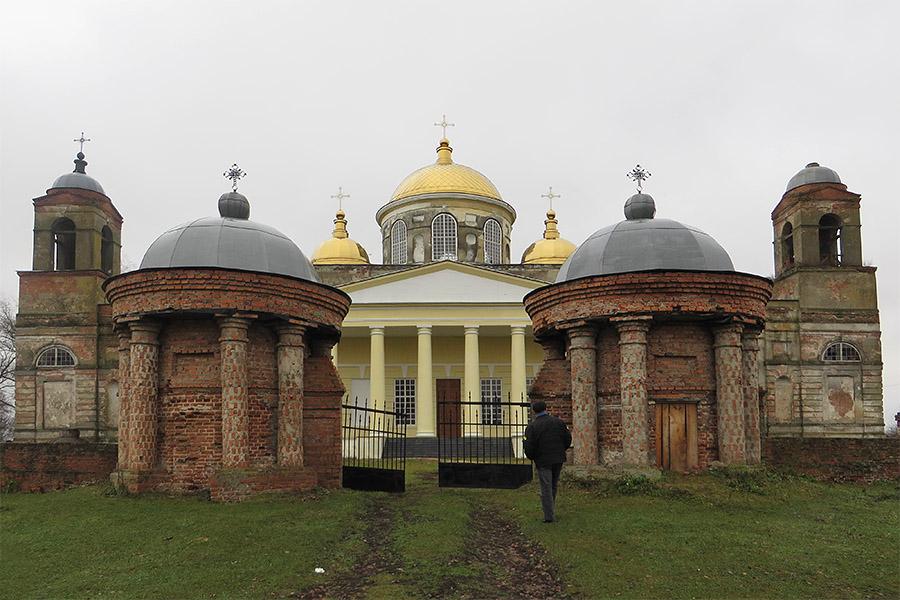 Церковь Екатерины в Ляличах. Фото: А.Дмитроченко
