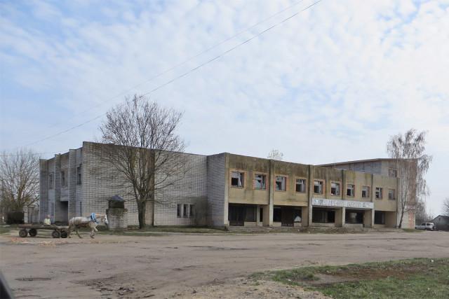 Заброшенный торговый центр в Каташине