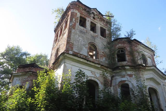Главный дом усадьбы в Новой Романовке