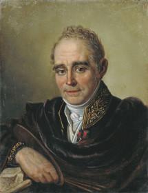 Портрет В.Боровиковского работы И.С.Бугаевского-Благодарного (1825)