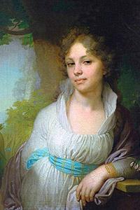 Портрет Марии Ивановны Лопухиной. 1797