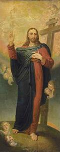 Икона «Спаситель». 1814–1815. Холст, масло. ГТГ