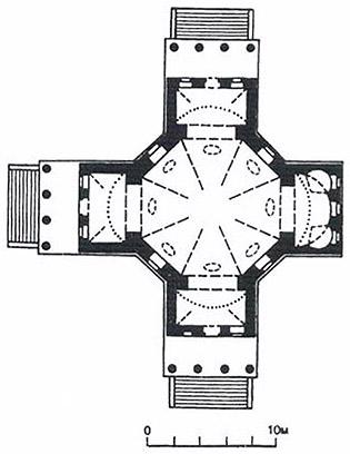 План храма (Свод памятников архитектуры и монументального искусства России)