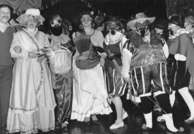 Новогодний вечер на фабрике им. 8 марта. Фото из архива А.Фаранова