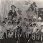 Утренник в детском саду №17, примерно 1979 г.