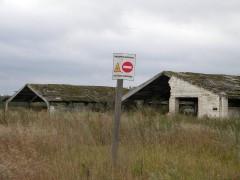На бывшей колхозной ферме