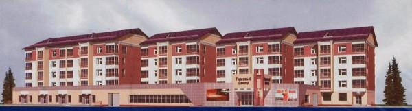 Визуализация проекта жилого дома по улице 307 дивизии, 2