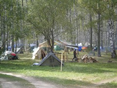 Палаточный городок. Фото: К.Карпов