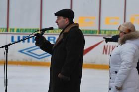Приветствие от администрации города. Фото: Н.Вележев