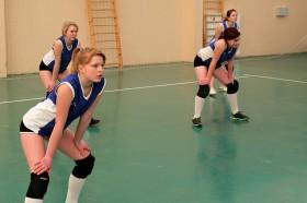 Команда девушек на выездой встрече в Стародубе. Фото: К.Карпов