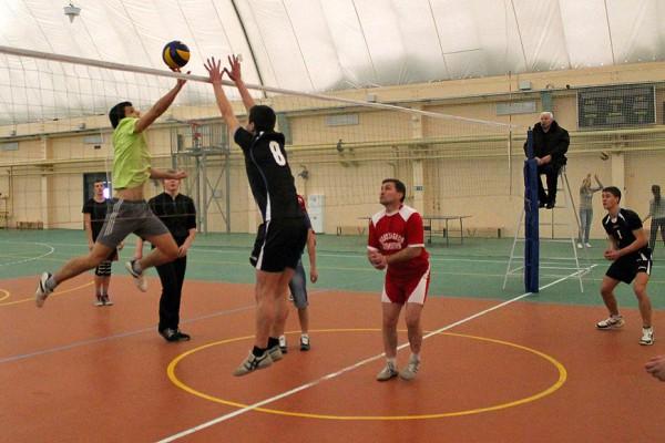 Матч мужских команд Новозыбкова и Стародуба. Фото: К.Карпов