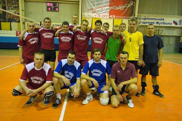 Команда мужчин из клуба «Олимпия». Фото: И.Янкевичус