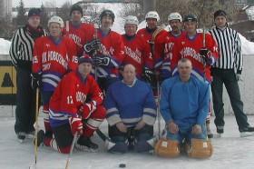 Команда ветеранов. В.Морокин - №15. 2006г.