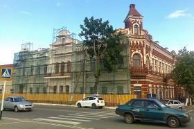 Ремонт Дома Певзнера. Фото: А.Дмитроченко