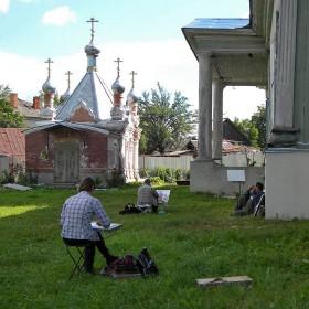 Пленэр в Новозыбкове. Фото: К.Попов