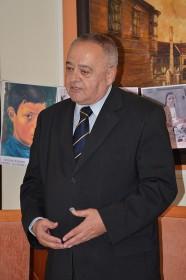 выступает ректор Университета Святых Кирилла и Мефодия в Трнаве, профессор Йозеф Матуш