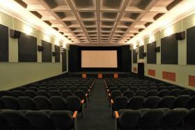 Зрительный зал кинотеатра «Октябрь»