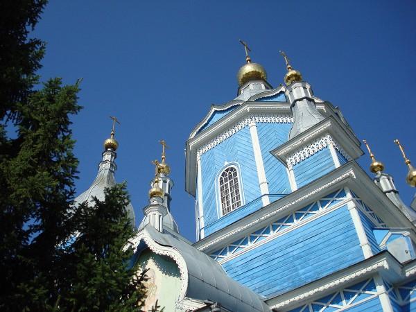 Спасо-Преображенский собор в Новозыбкове