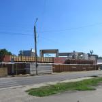 Вид на строящийся ТЦ с улицы Кубановской. Фото: А.Дмитроченко