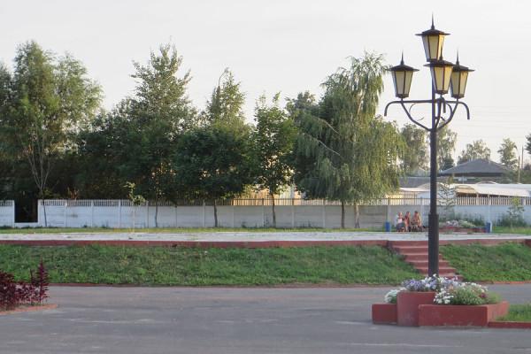 Площадка, на которой была установлена стела Дружбы славянских народов. Фото: А.Дмитроченко