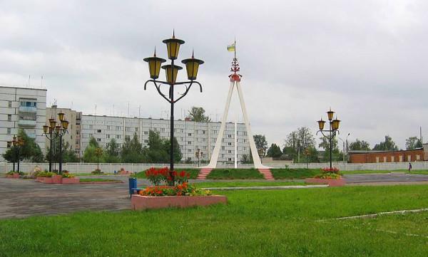 Стела Дружбы славянских народов. Фото: А.Карпов, 2004 г.