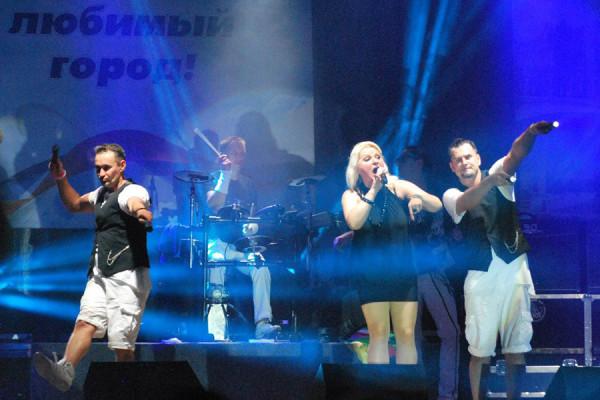 Концерт группы Мираж. Новозыбков, 26.09.2015. Фото: Н.Вележев