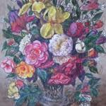 М.Шапиро. Цветы