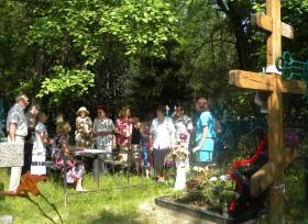 Встреча на кладбище