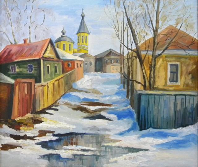 Весна в Новозыбкове. М.Корнюхова