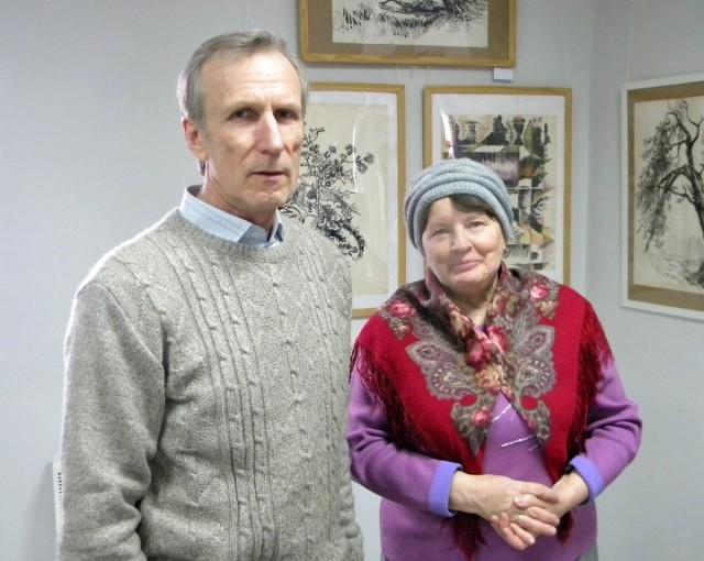 Владимир и Людмила Белугины, родственники художника