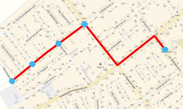 Второй бесплатный автобусный маршрут к участку 706
