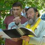А.Дудников и о. Владимир