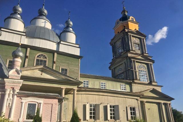 Никольско-Рождественский храм. Август 2018 г.