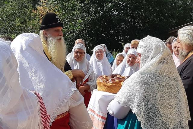 Встреча митрополита Корнилия
