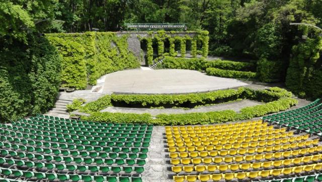 Летний театр в Приморском парке города Варны