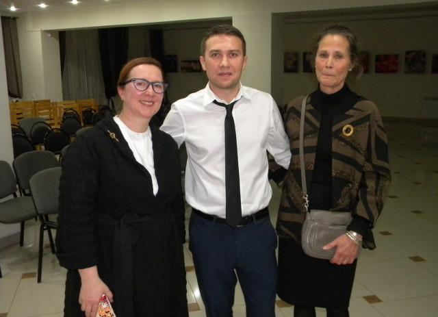 Ирина Сомова, Александр Дудников, Марина Шидловская