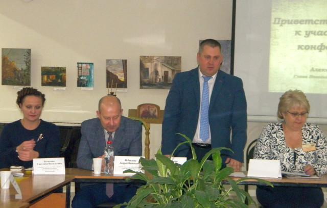 Выступает А.Щипакин, глава города Новозыбкова