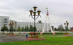Новозыбков. Площадь Дружбы