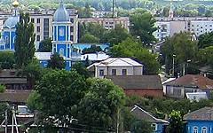 Новозыбков. Вид части города