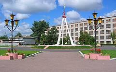 Новозыбков. Площадь Дружбы славянских народов