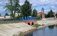 Новозыбков. Мост на ул. Коммунистической