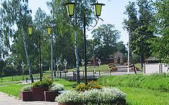 Новозыбков. Сквер на Набережной