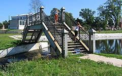 Новозыбков. Пешеходный мост