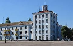 Новозыбков. Жилой дом на площади Октябрьской революции