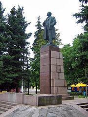Новозыбков. Памятник Ленину
