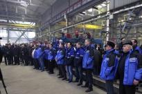 Денин на Новозыбковском машиностроительном заводе. Фото: Сергей Непша