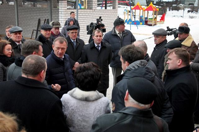 Денин в Новозыбкове. Фото: Сергей Непша