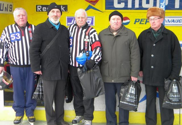 Ветераны Копылов, Попов, Морокин, Шукаев, Мецгер